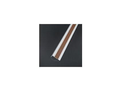 Samolepiaca krycia páska pre schodové hrany, čierna, šírka 23 mm