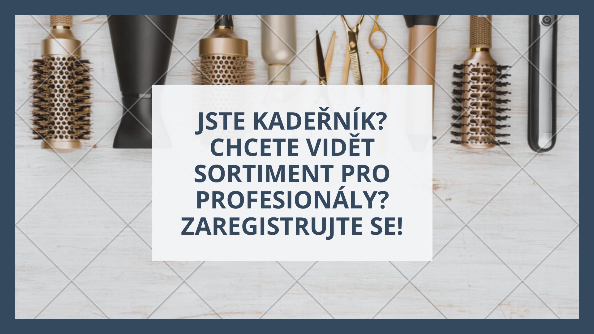 Profi Registrace - Přihlášení Kadeřník