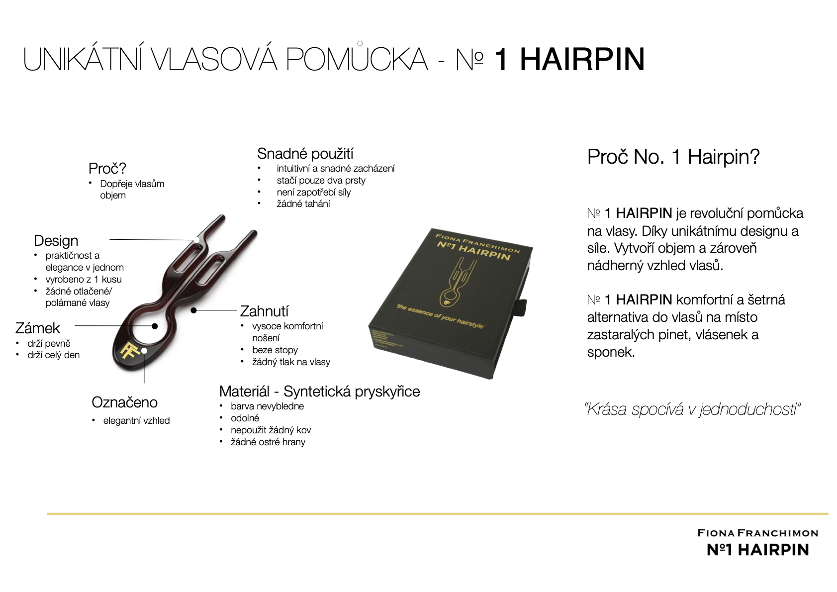 Fiona Franchimon No 1 Hairpin