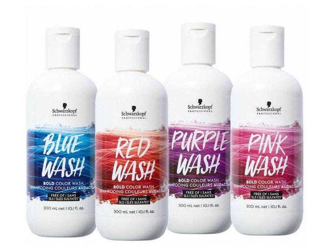 Schwarzkopf Bold Color Wash barvící šampon 300ml
