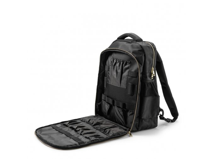 9140 stylist tool backpack. open