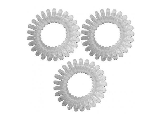 Spirálové gumičky do vlasů