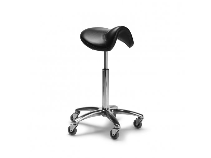 27 4651 Salon stool saddle 2128