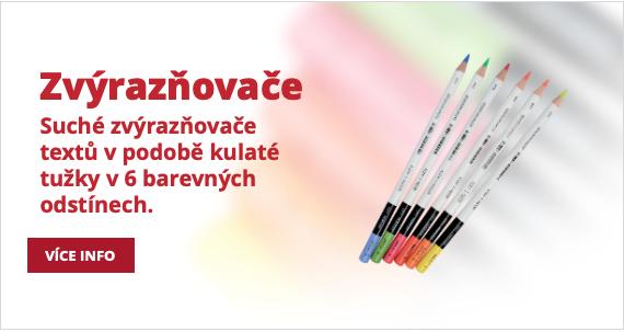 Zvýrazňovacé tužka
