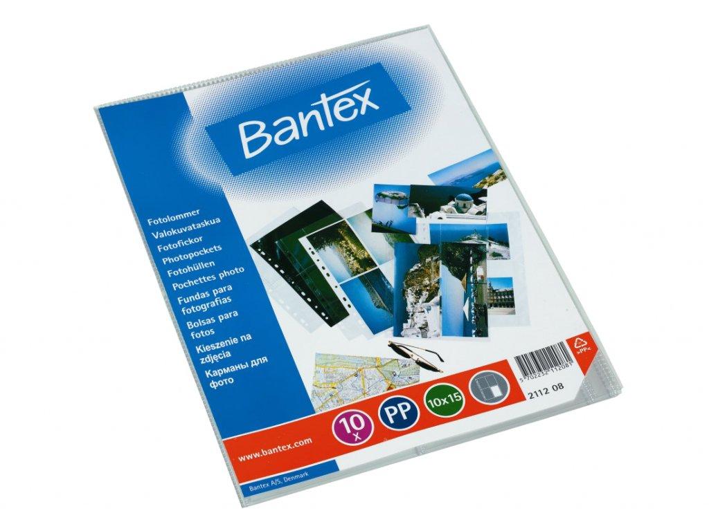 Bantex, zakládací obal A4 na 8 foto 10x15 cm, cena za 10 fólií