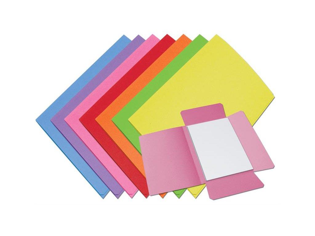 50 x HIT, papírové odkládací desky 253, 3 chlopně