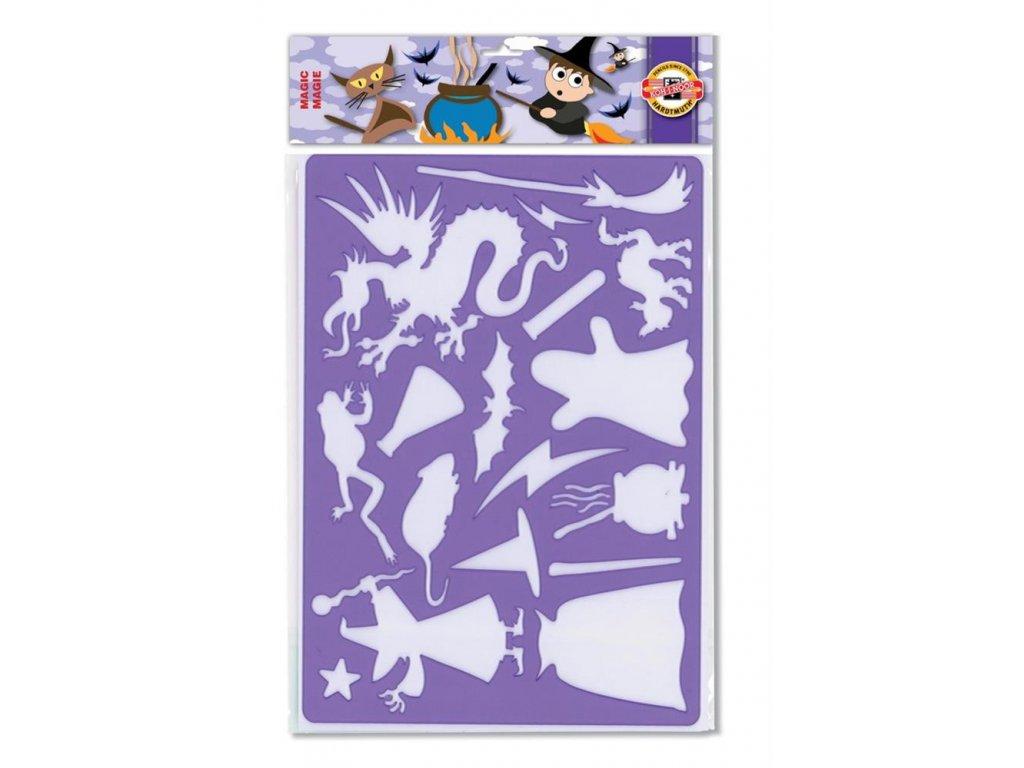 Koh-i-noor, kouzelnická šablona 9820, Magie