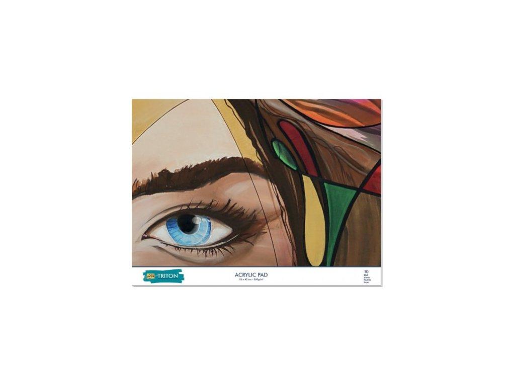 SOLO GOYA TRITON ACRYLIC PAD 56 x 42 cm 10 listů