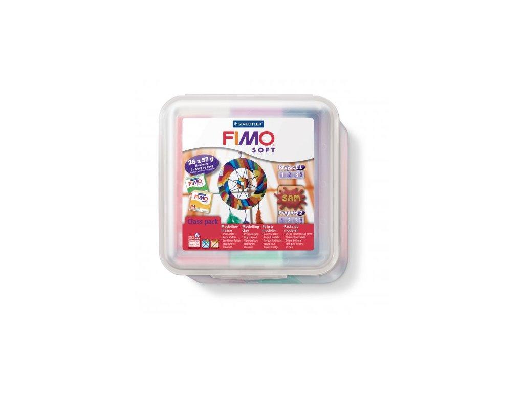 Fimo Soft sada - MAXIBOX
