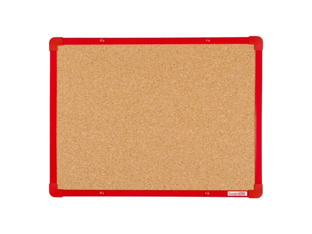 boardOK 60x45 korek cervena f
