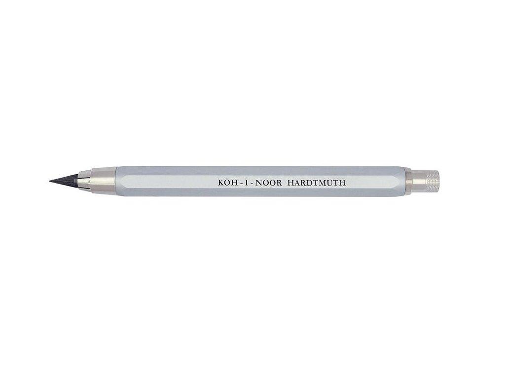Koh-i-noor, stříbrná versatilka 5340 pro tuhu 5,6 mm
