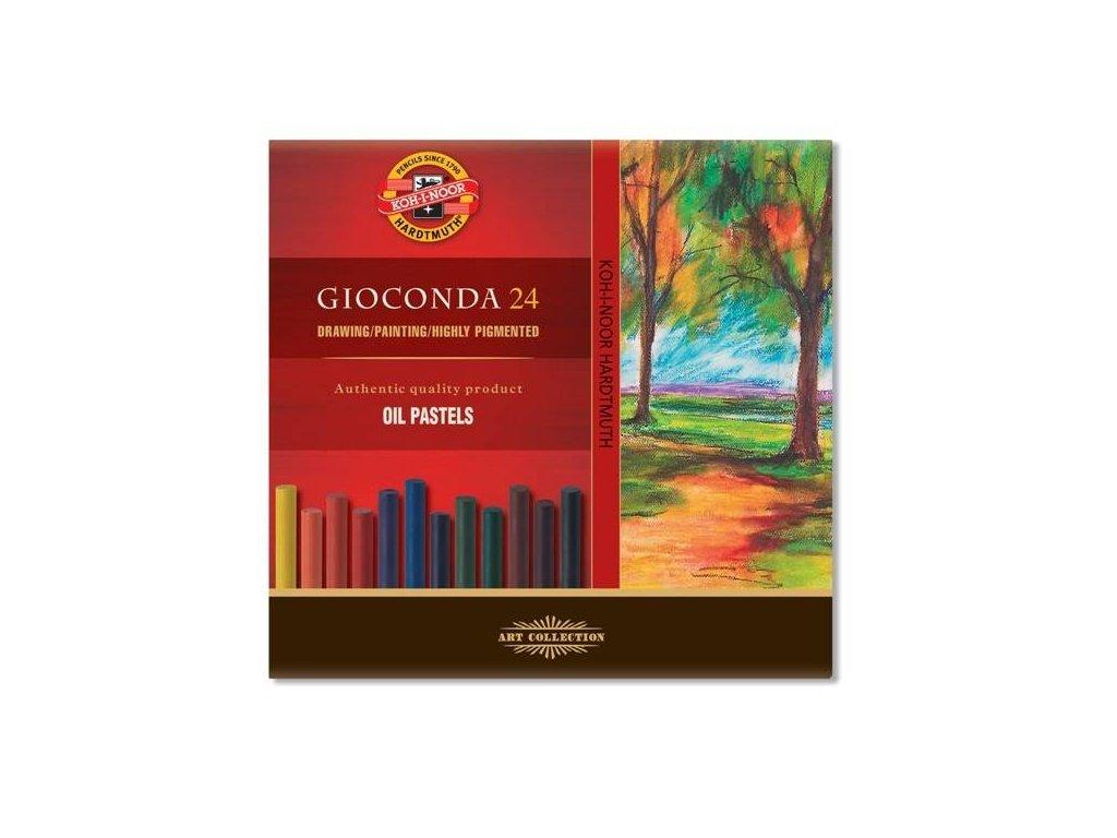 Koh-i-noor, olejový pastel GIOCONDA 8354/24