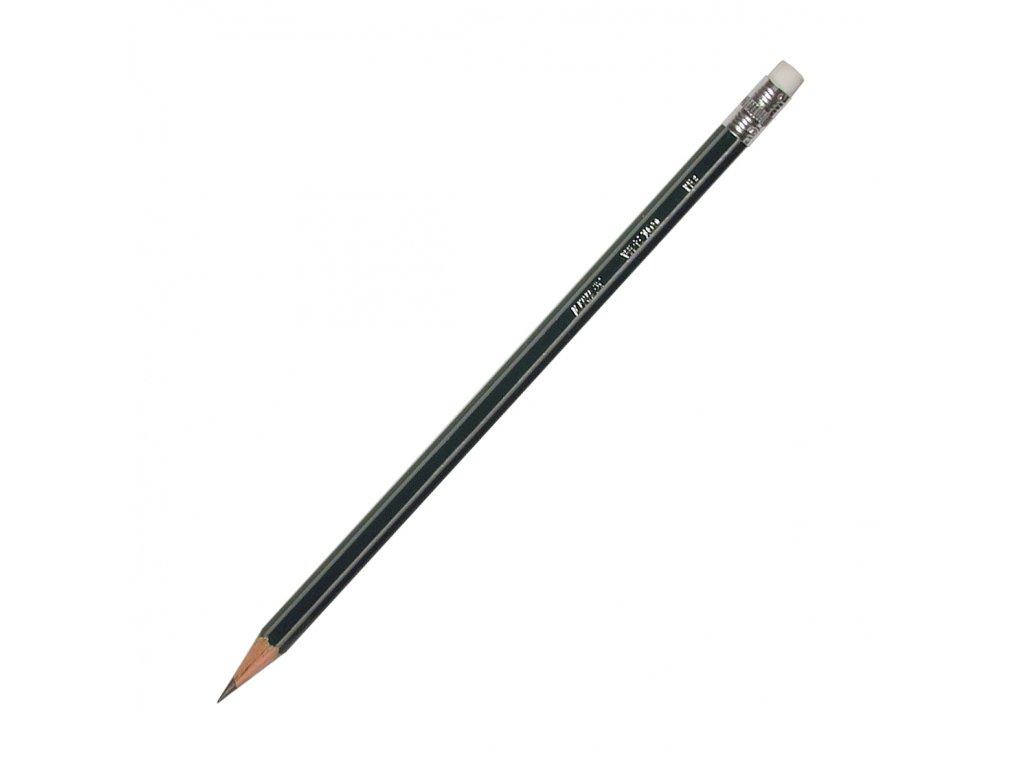 Linex, dřevěná šestihranná tužka Linex s gumou na konci, cena za 12 ks