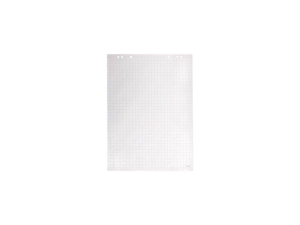 blok pro flipchart čtvereček 68x95cm, 5 bloků á 25 listů