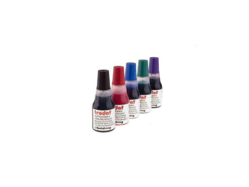 Trodat, razítková barva 7010, 25ml., červená