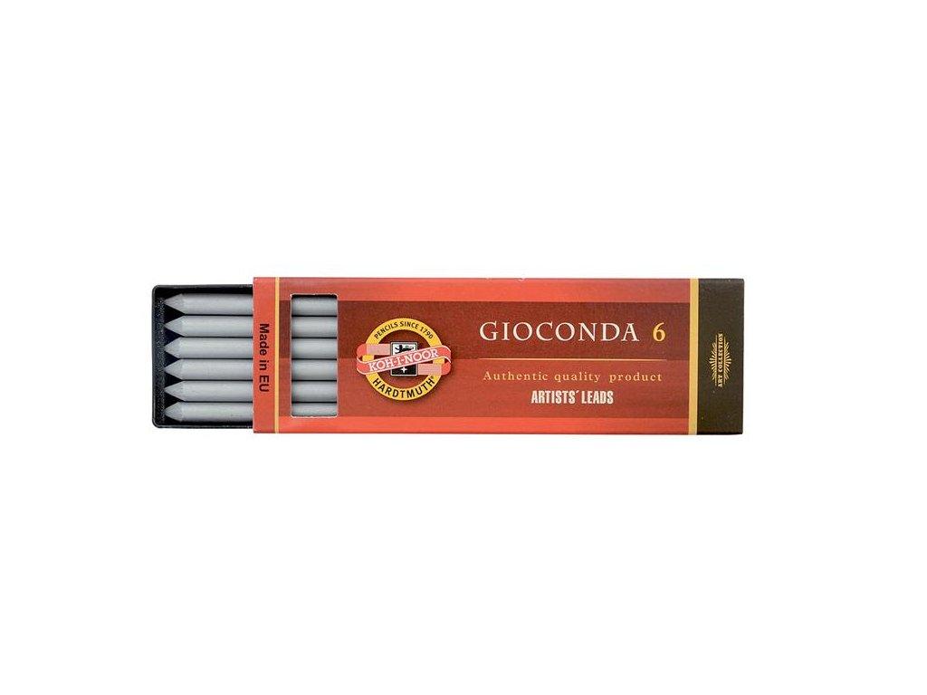 Koh-i-noor, stříbrná tuha Gioconda 6, 4381