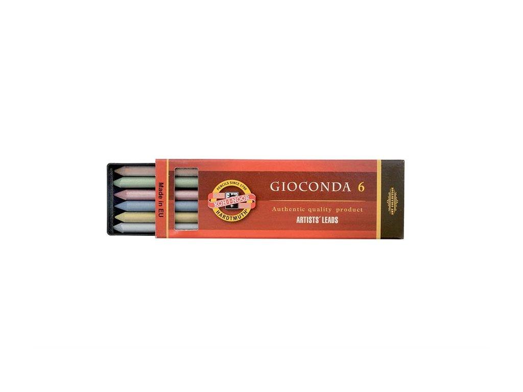 Koh-i-noor, metalické tuhy Gioconda 6, 4380, 12 cm