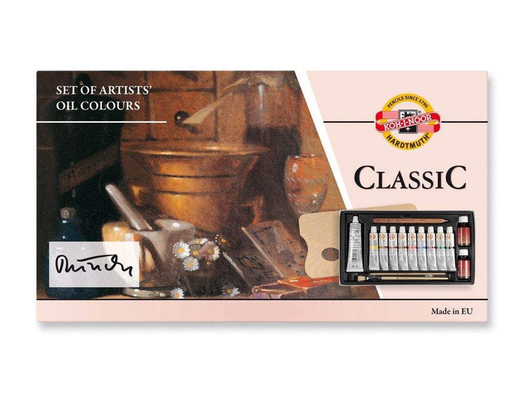 Koh-i-noor, sada olejových barvev Classic