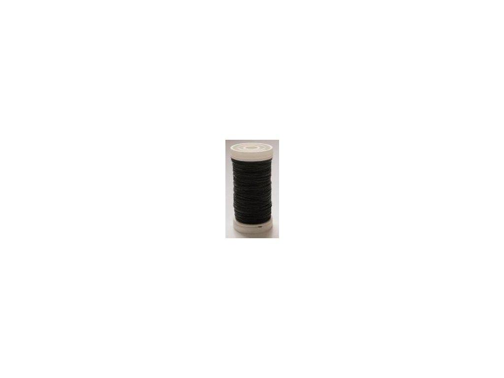 vázací drát 0,3 mm cívka-zelený