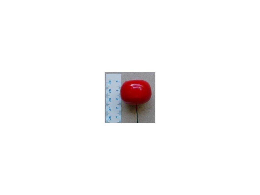 jablko střední červené, 2 ks