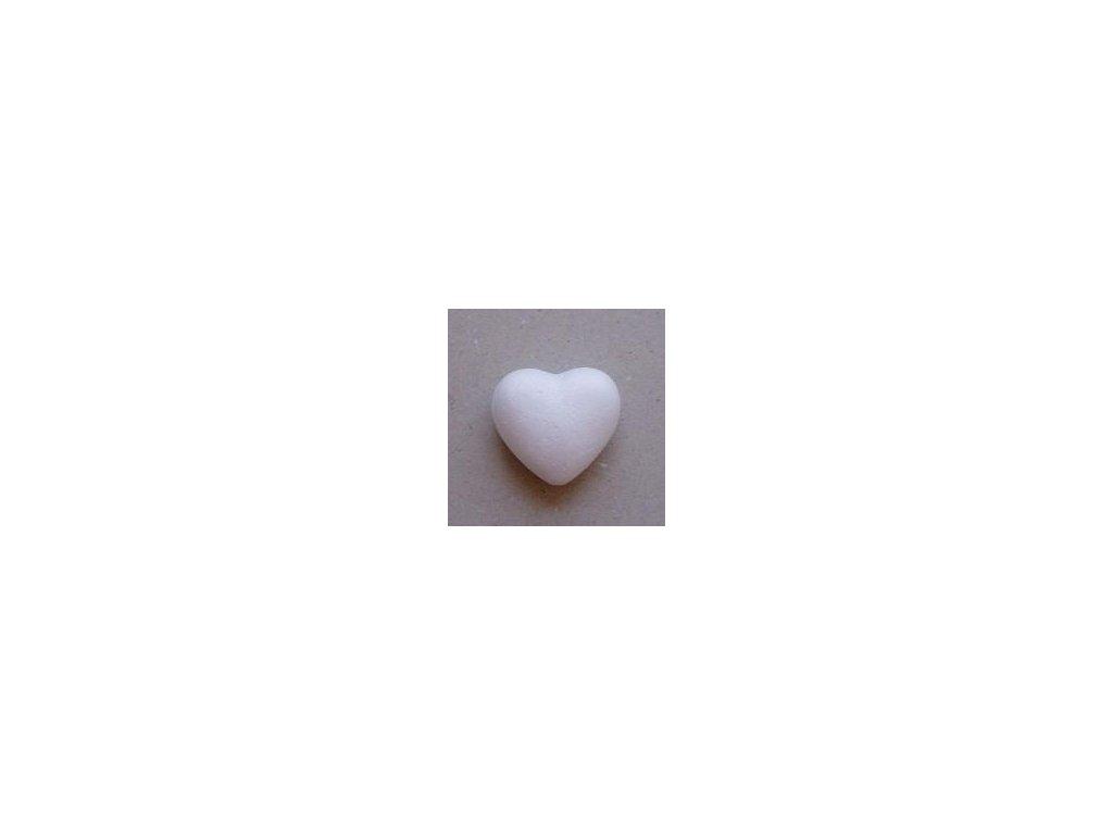 srdce 50 mm z polystyrenu