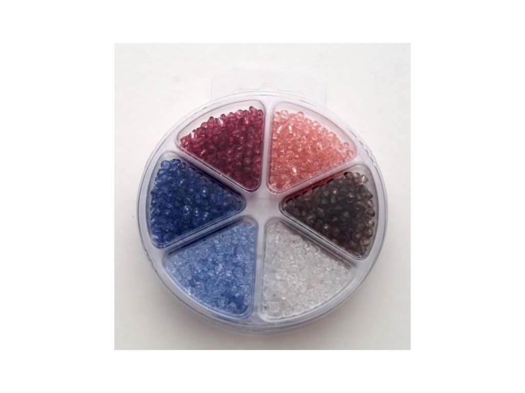 Set korálků 5 - akryl 6 barev