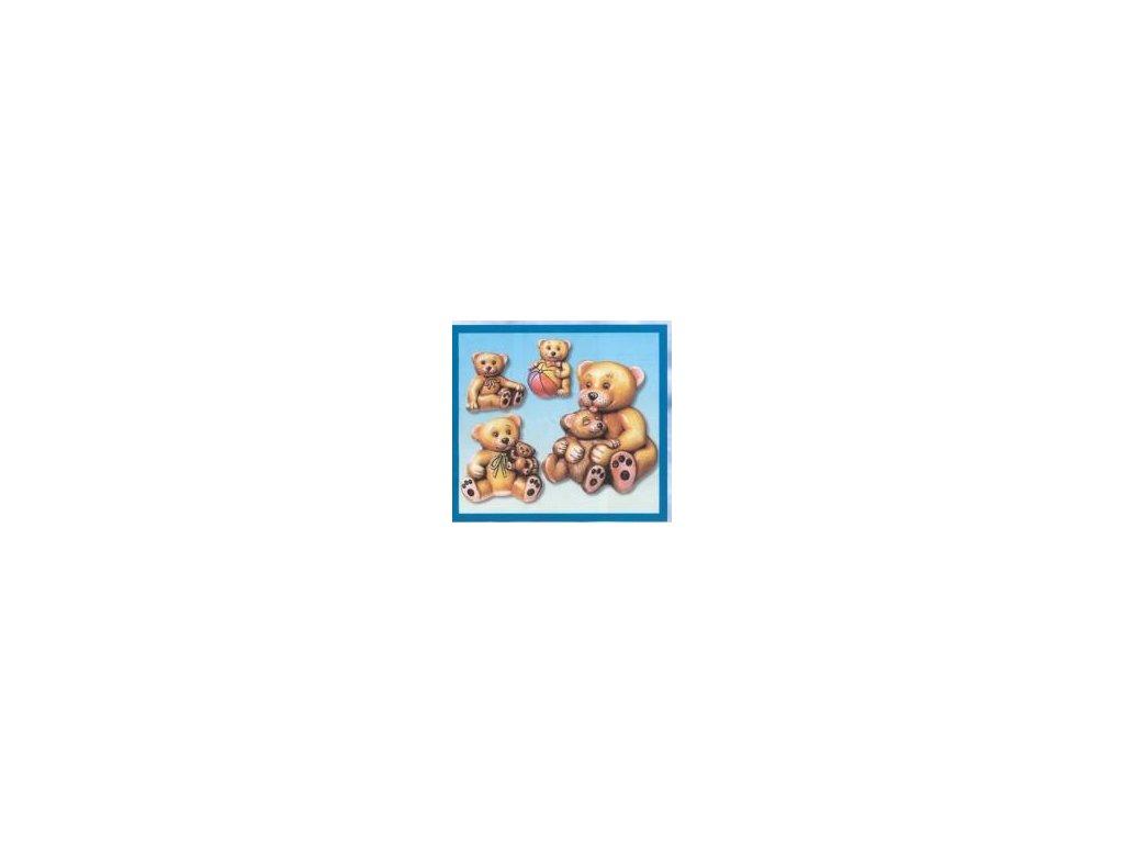 Forma na odlitky, medvěd, 4 ks
