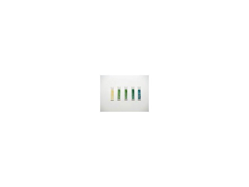 glitr, set 5 x 1,8 g., zelený