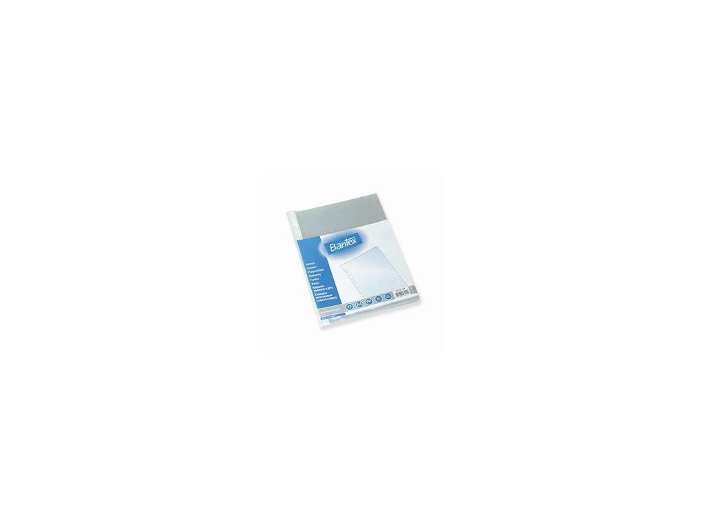 Bantex, prospektový obal A4 antireflexní 1000 ks