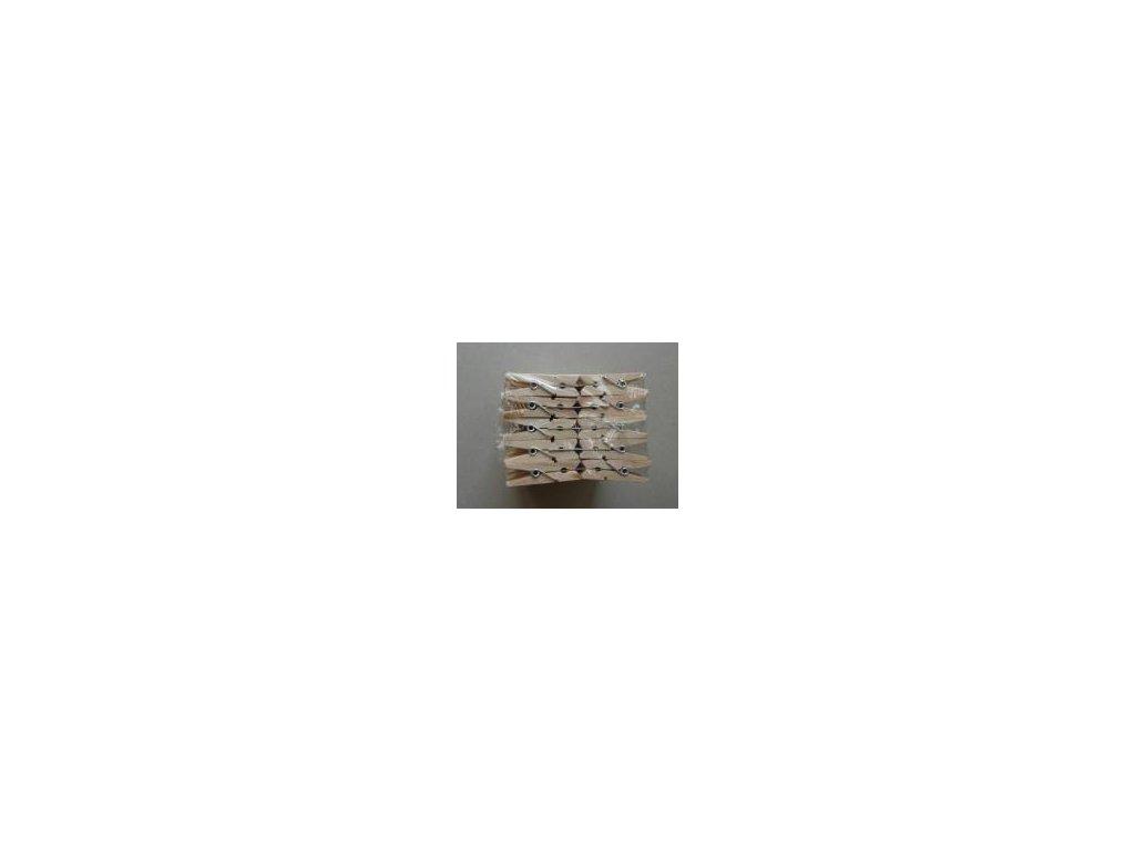 dřevěné kolíčky natur, 35 mm, 100 ks