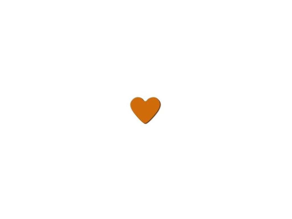 ozdobná střední výseková děrovačka Srdce