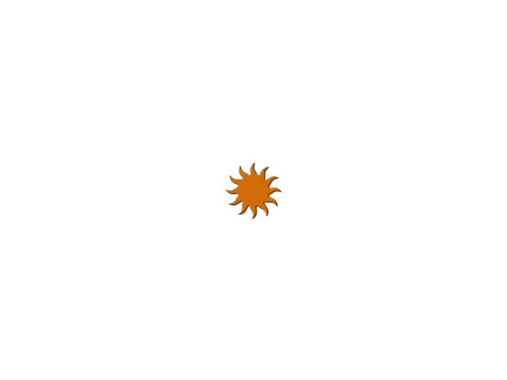 ozdobná střední výseková děrovačka Slunce