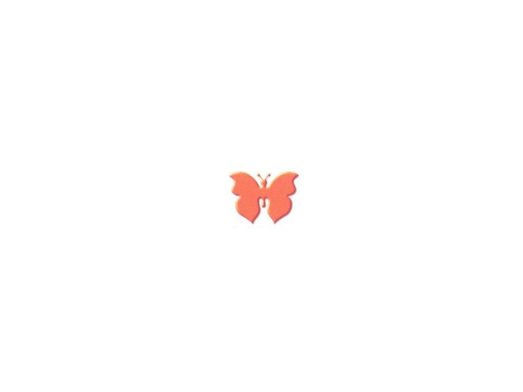 ozdobná střední výseková děrovačka Motýl 2