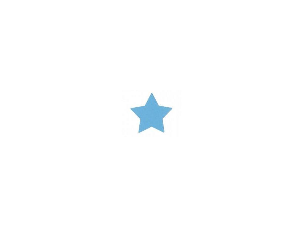 ozdobná velká výseková děrovačka Hvězda