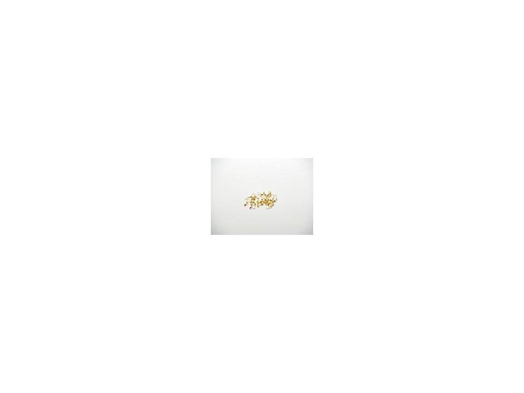 Kalota dvoumisková, 20ks, imitace zlata