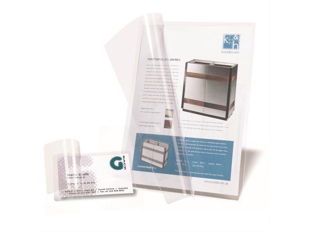 Laminovací fólie A4, 225x312 mm, samolepící