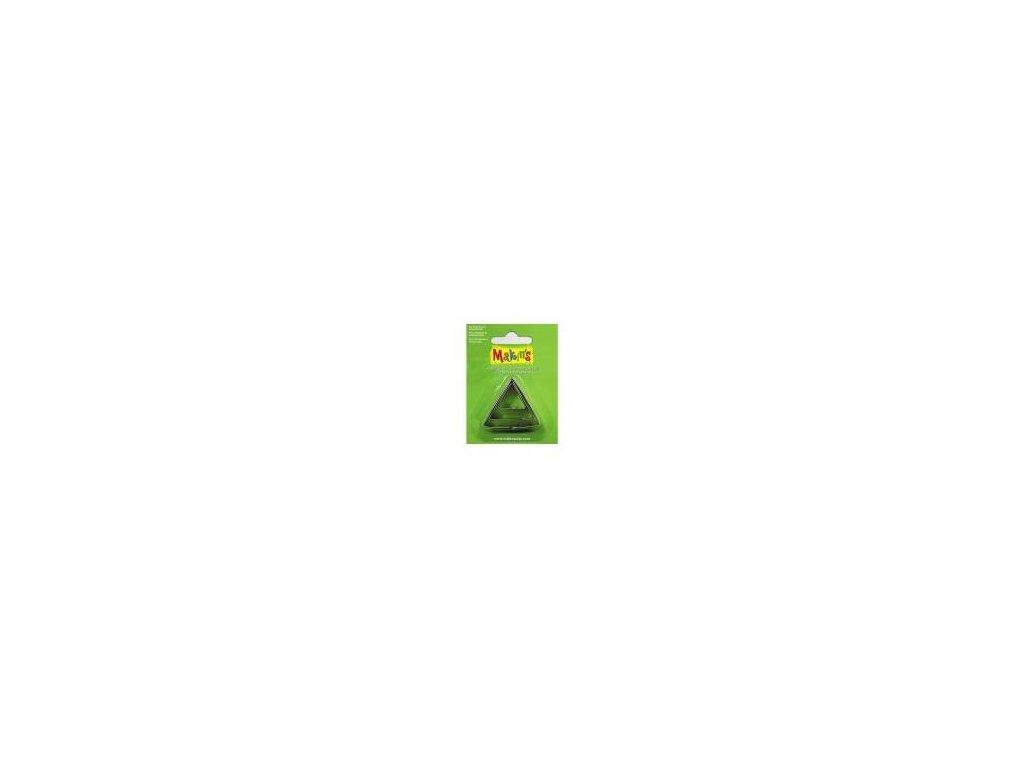 MAKIN'S, vykrajovátko trojúhelník, 3 ks