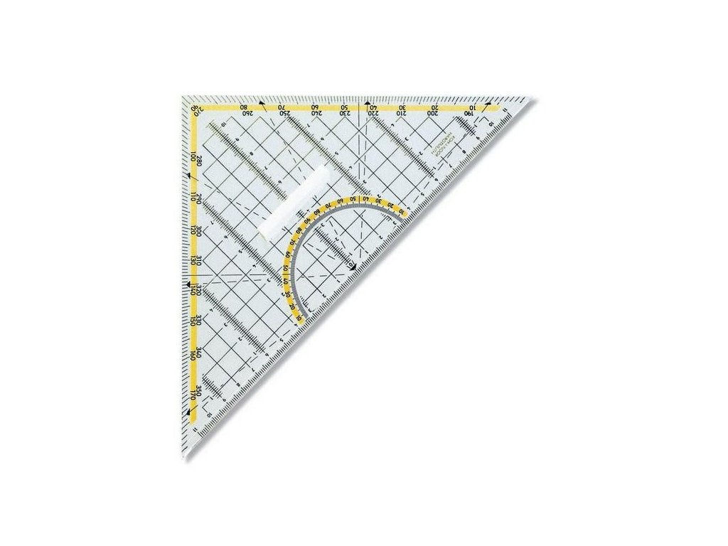 Koh-i-noor, geometrický trojúhelník s úchopem