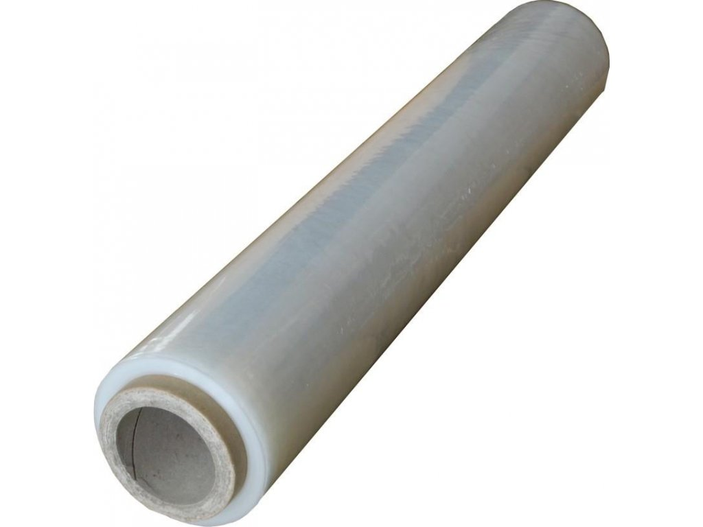 6 x průhledná fixační folie, šířka 50cm, 23my, 2,1 kg