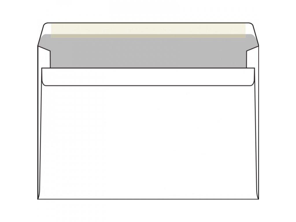 postovni obalka c5 smartline s vnitrnim tiskem samolepici bily ofset 500 ks