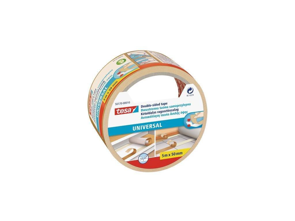 Tesa, oboustranně lepicí páska, 50mm × 5 m