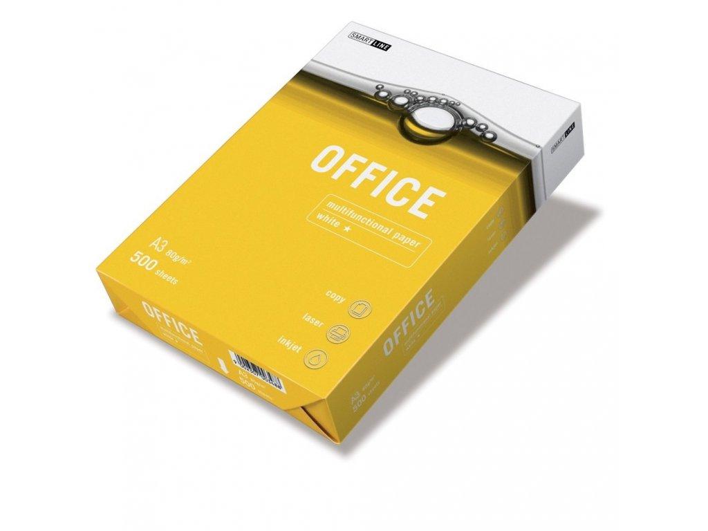 Kancelářský papír Smart Line Office A3/80 g, 500 listů