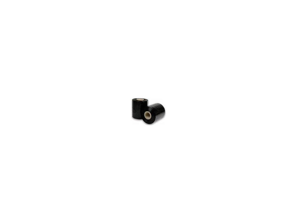 smršťovací folie šířka 10 cm tloušťka 23mic tzv. granát, černá 60 ks