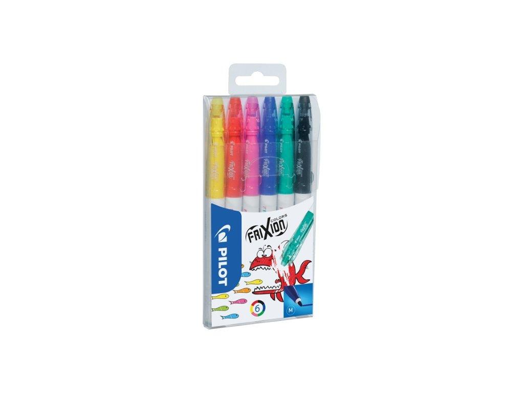 Pilot, FriXion Colors, set přepisovatelných fixů
