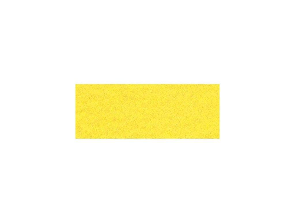 žlutá plsť, 20x30 cm