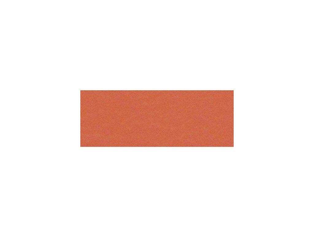 oranžová plsť, 20x30 cm