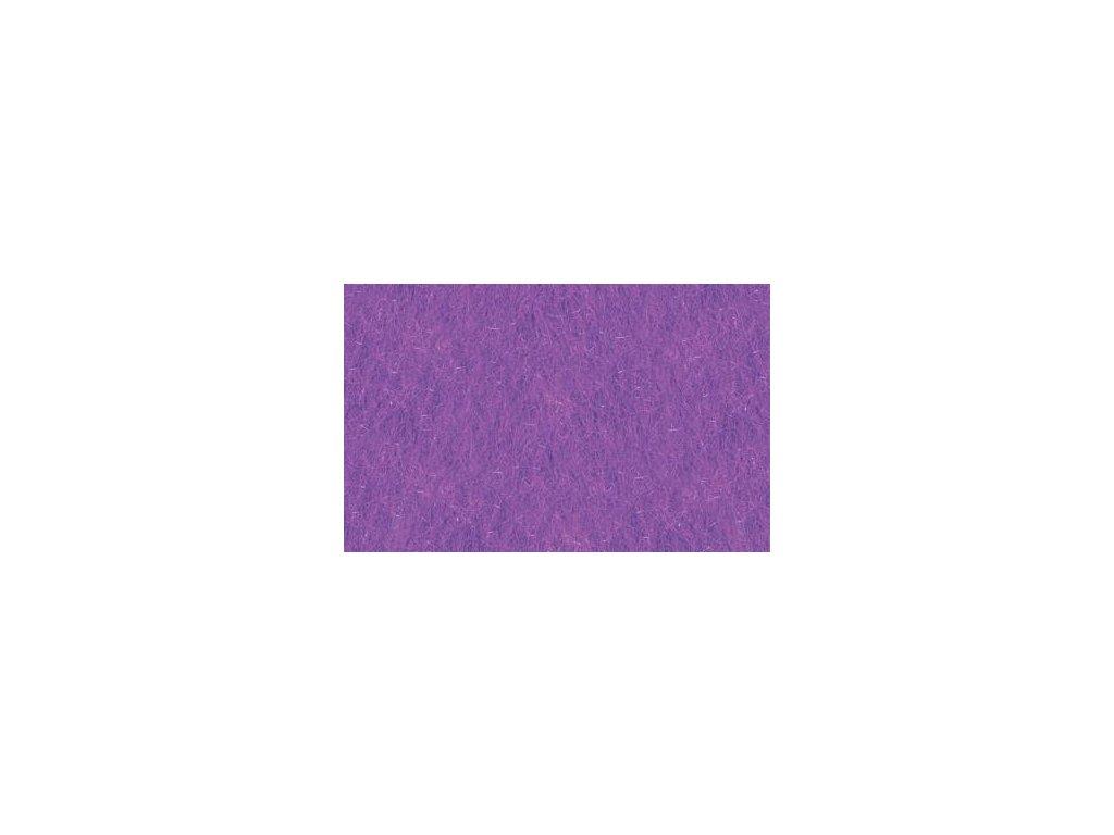 fialová plsť, 20x30 cm
