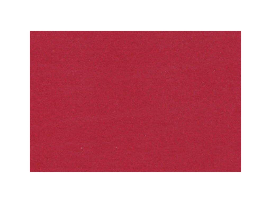 tmavě červená plsť, 20x30 cm