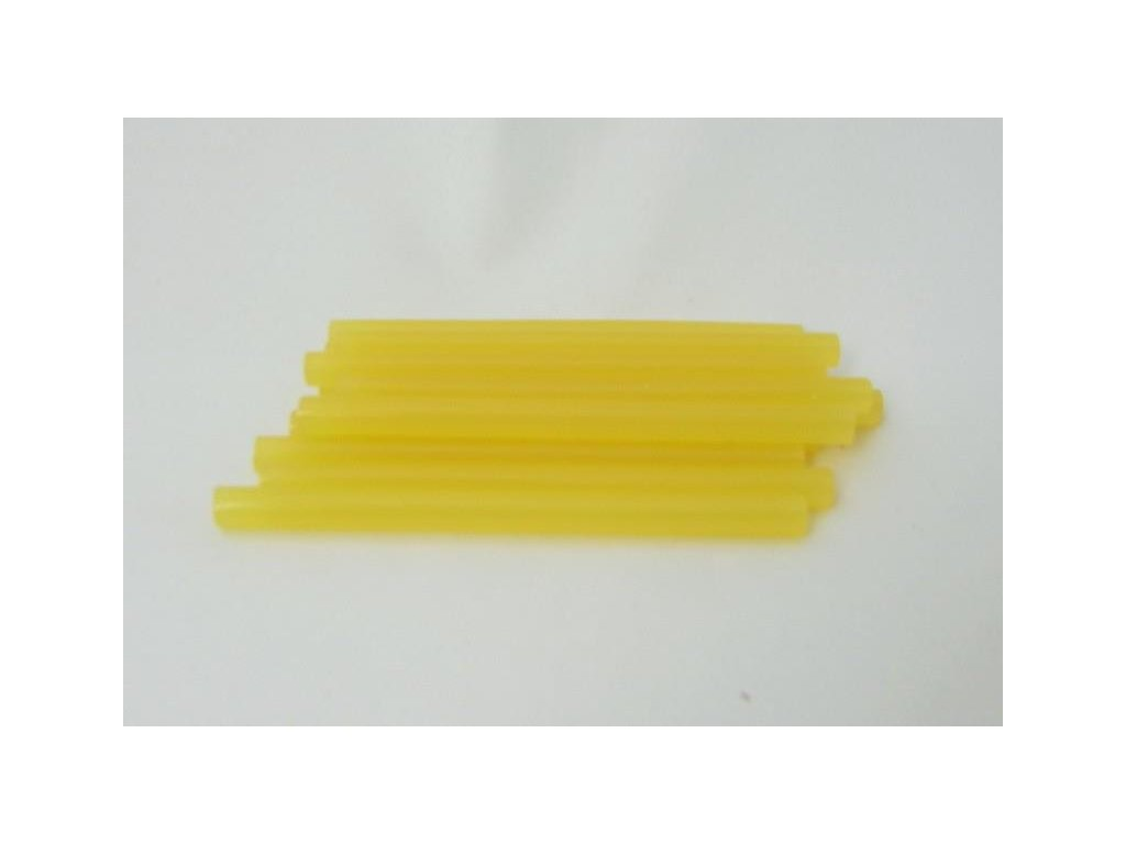 žluté tavné tyčinky 7,5 mmx10 cm