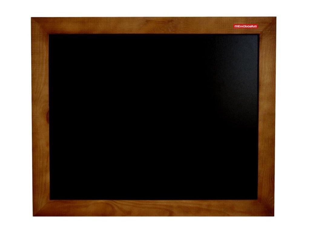 Memoboards, křídová tabule, dřevěný rám, 90 x 60 cm